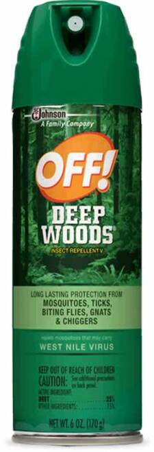 OFF! Deep Woods Insect Repellent Mosquito Protective Spray 6 Oz.