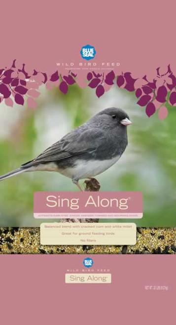 Blue Seal Sing Along Bird Seed, 40 Lb.