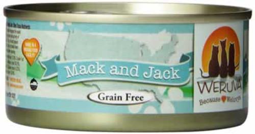 Weruva Mack & Jack Grain Free Canned Cat Food 5.5 Ounces