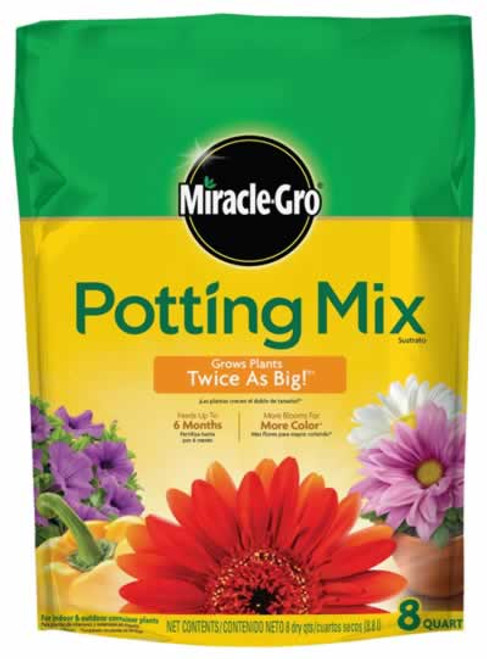 MiracleGro Potting Mix 8 Quart