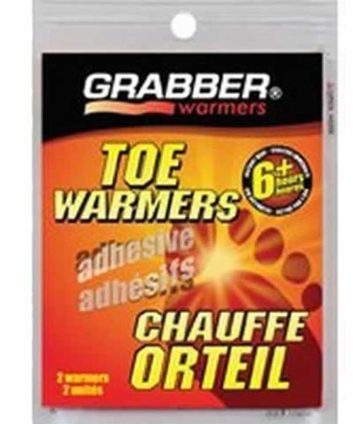 Grabber Toe Warmers 2 Pack