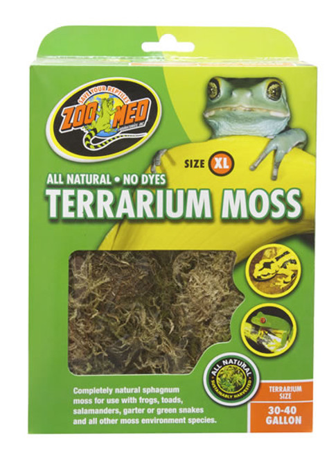 Terrarium Moss 30-40 Gallon