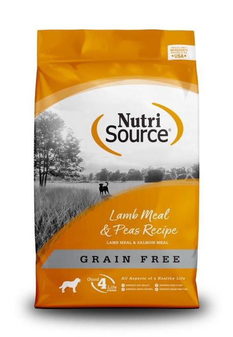 NutriSource Grain-Free Lamb Meal & Peas Formula