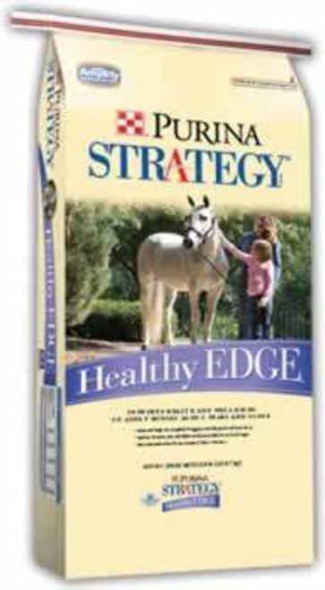 Purina Strategy Healthy Edge Horse Feed, 50 Lb.