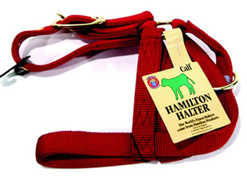 Calf Red Turnout Halter