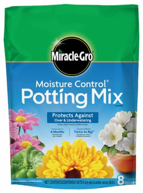 Miracle-Gro Moisture Control Potting Mix, 2 Cubic  Feet