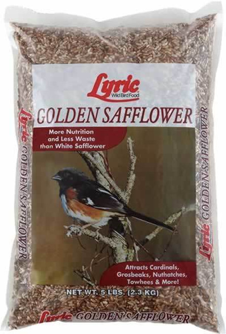 Lyric Golden Safflower Bird Seed, 5 Lb.