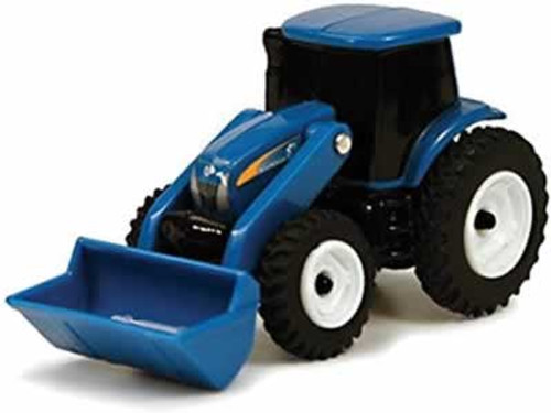 New Holland Blue Toy Tractor with Loader