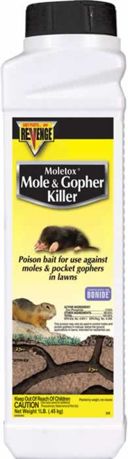 Bonide Moletox II Mole & Gopher Killer 1 Pound