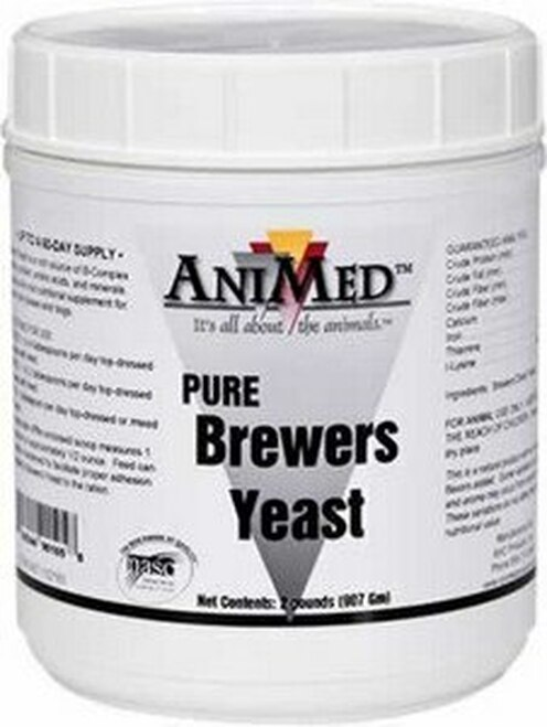 AniMed Pure Brewers Yeast 4 Pounds