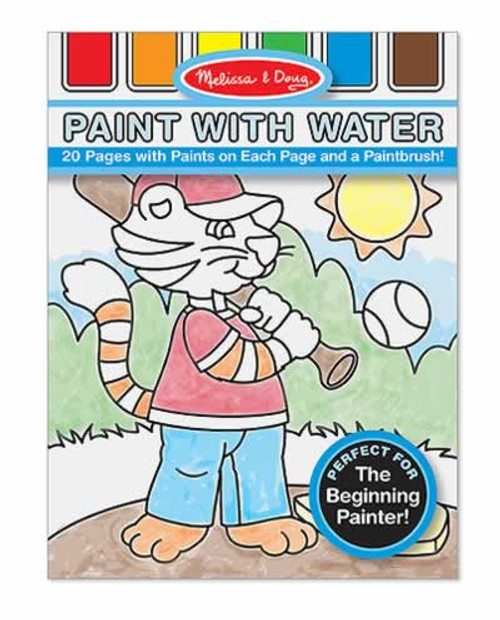 Melissa & Doug Blue Paint with Water Kids' Art Pad