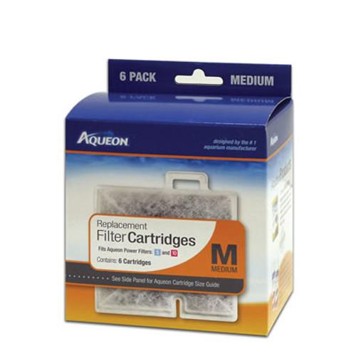 Aqueon Cartridge, Medium/6 Pack