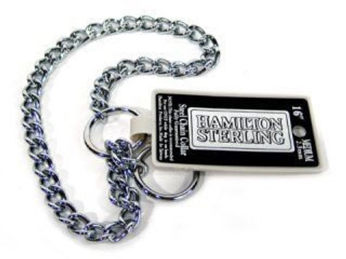 Hamilton Medium Choke Chain 16 Inch