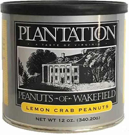 Plantation Peanuts of Wakefield Lemon Crab 12 Ounces