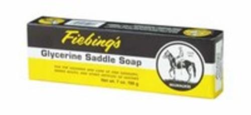 Fiebing's Glycerine Saddle Soap Bar, 7 Ounce