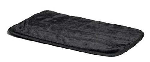 Black Deluxe Pet Mat, 49x30 Inch