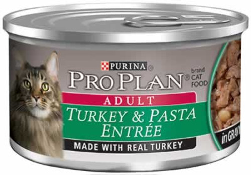 Pro Plan Turkey & Pasta Canned Cat Food, 3 Oz.