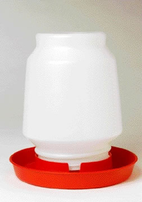 Plastic Screw On Jar 1 Gallon