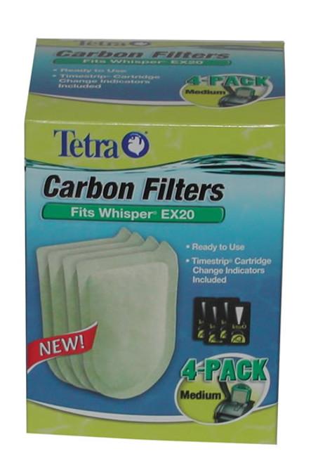 Whisper EX Filter Cartridge Medium, 4 Pack