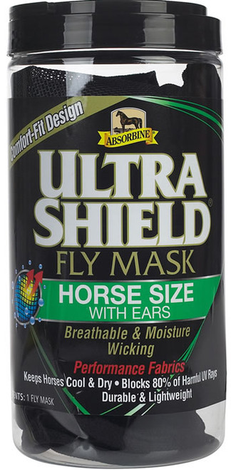 Absorbine UltraShield Fly Mask without Ears