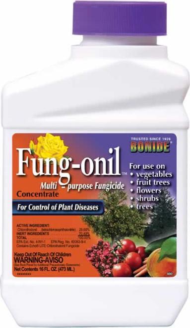 Bonide Fung-onil Multi Purpose Fungicide Concentrate Pint