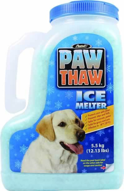 Pestell Paw Thaw Pet Friendly Ice Melter 12 Pound Jug