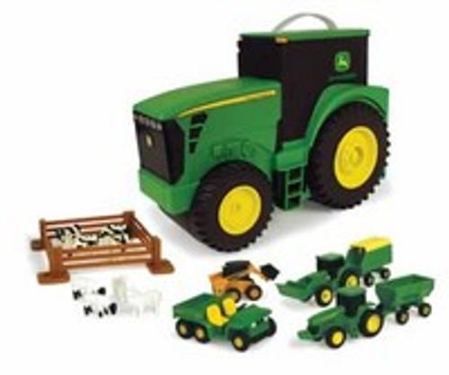 Ertl John Deere Tractor Carry Case Value Set