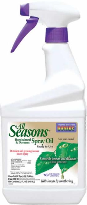 Bonide All Seasons Horticultural Spray Oil 32 Ounces