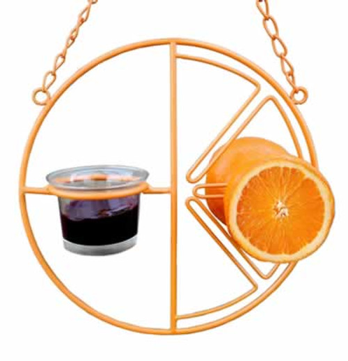 Heath Clementine Orange & Jelly Oriole Feeder
