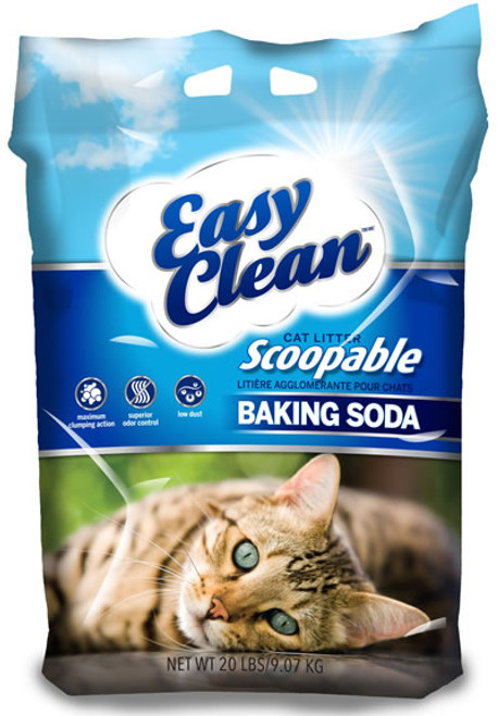 Pestell Easy Clean Clumping Cat Litter with Baking Soda