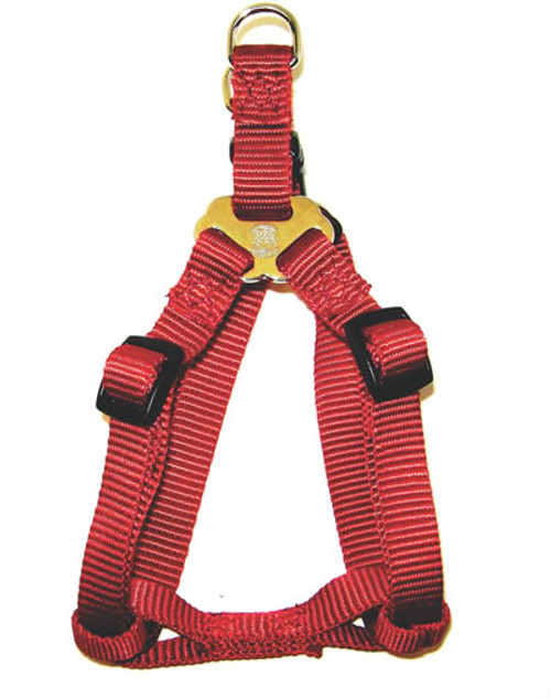 Hamilton Adjustable Easy On Harness, 20-30 Inches, Red