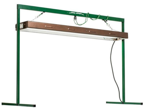Hydrofarm Jump Start Indoor Plant Light System, 4 Feet