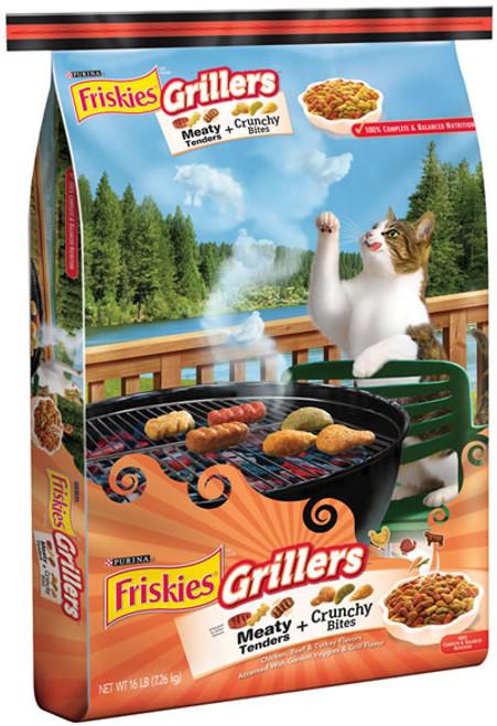 Friskies Grillers Blend Cat Food 16 Pounds