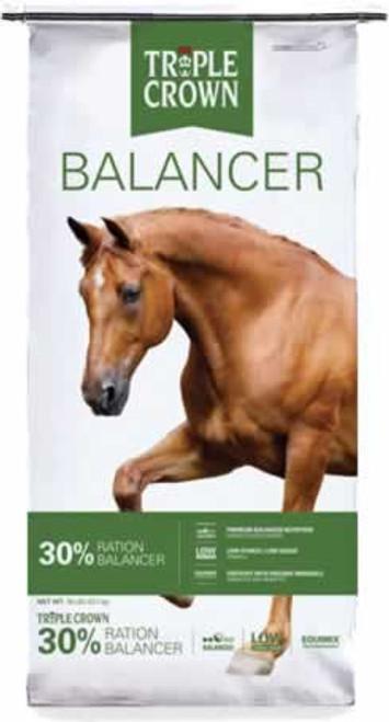 Triple Crown 30% Equine Supplement, 50 Lb.