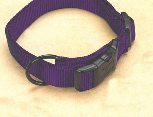Hamilton Purple Nylon Adjustable Collar 5/8 x 12-18 Inch