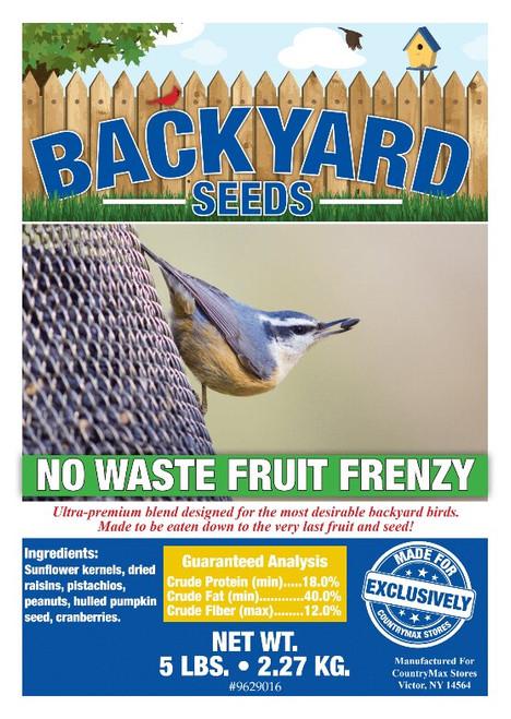 Backyard Seeds No Waste Fruit Frenzy Bird Seed
