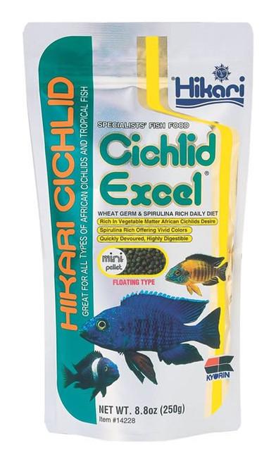 Hikari Cichlid Excel Mini, 8.8 Ounce