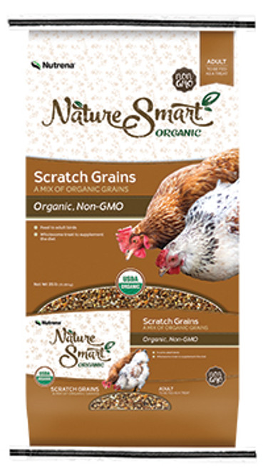 Nutrena Nature Smart Organic Scratch Grains 35 Pounds