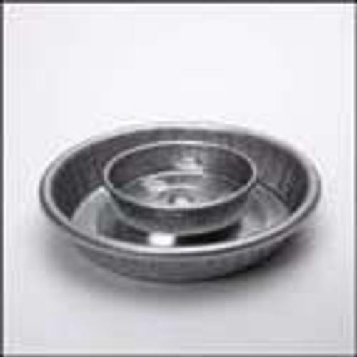 Galvanized Water Jar Base 1 Quart