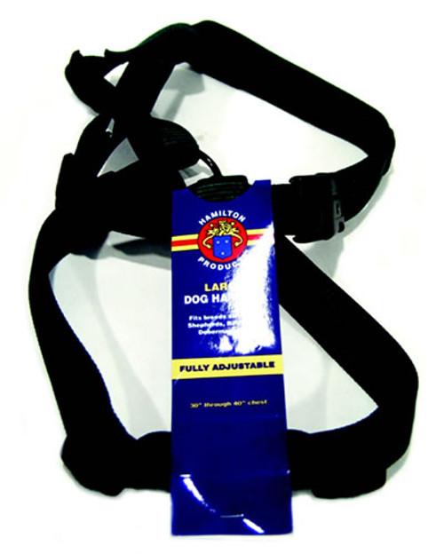Hamilton Large Adjustable Nylon Comfort Harness, Hunter Green