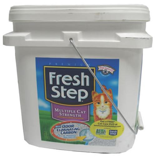 Fresh Step Multiple Cat Strength Litter, 28 Pounds