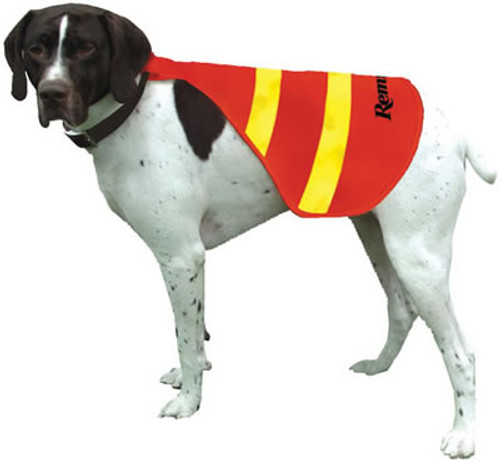 Remington Orange Reflective Safety Dog Vests, Medium