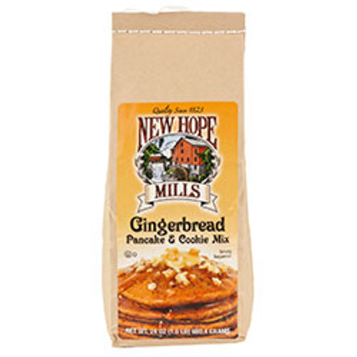 New Hope Mills Gingerbread Pancake And Cookie Mix 1.5 Pounds