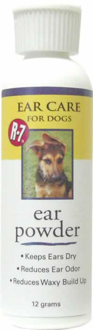 R-7 Drying Ear Powder for Dogs & Cats 12 Grams