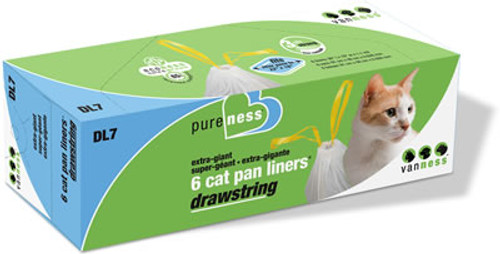 Giant Drawstring Liners, 6 Pack