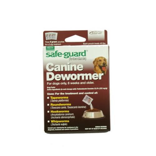 Safe-guard Dog Wormer 40 lbs.