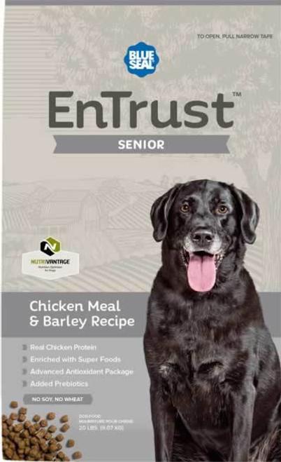 Blue Seal EnTrust Senior Chicken Meal & Barley Dog Food