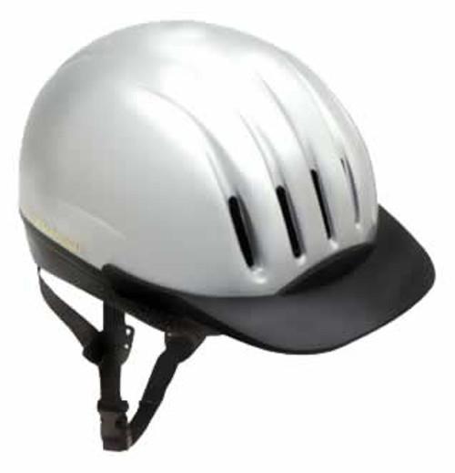 Equi-Lite DFS Helmet Silver Medium