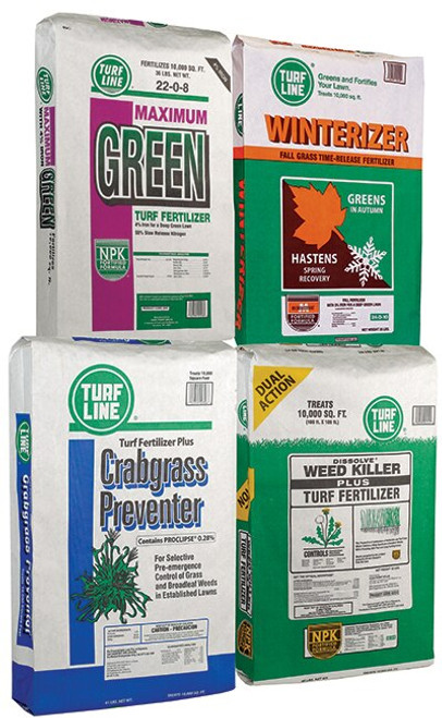 Turf Line Maximum Green 4 Step Lawn Program 5,000 Square Feet