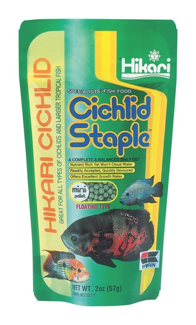 Hikari Cichlid Staple Mini, 2 Ounce